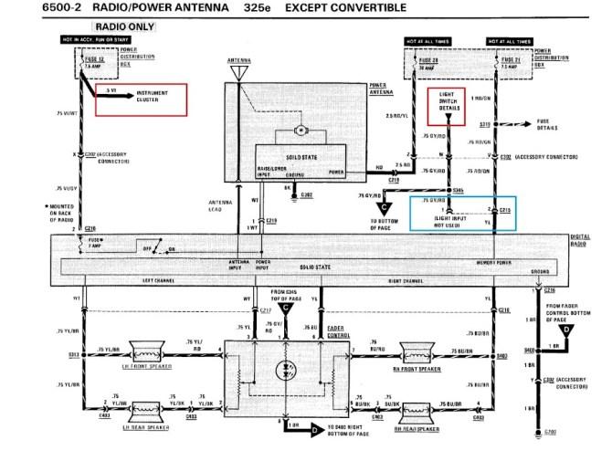 bmw e30 turn signal wiring diagram  center wiring diagram