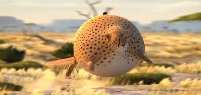 *非洲大草原野生「胖」動物:像顆彈力球Q彈有勁! 6
