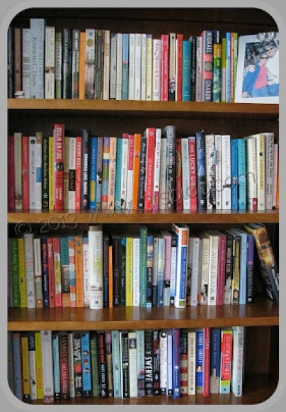 nonfiction shelves