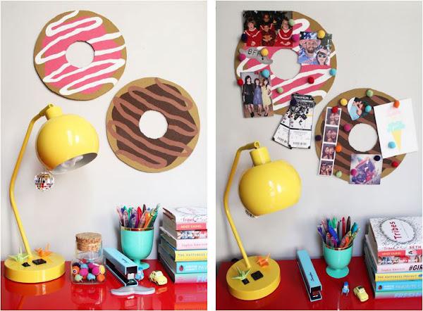 Un corcho para decorar el escritorio