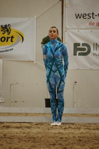 Lauren Vanlerberghe, freestyle voltige Moorsele 2014