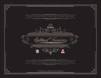 2012 Panini National Treasures Football