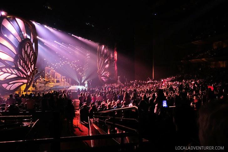 Mariah Las Vegas Show #1 to Infinity at the Caesars Palace.