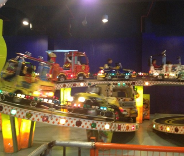 This Is A Track With Cars And It Was Free There Are  Free Rides Here The Entry Fee To Al Shallal Is  Sr Per Person