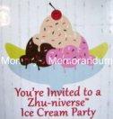 zhu-nivers Ice Craem Party