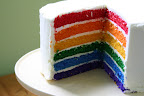 My new goal - the perfect rainbow cake!