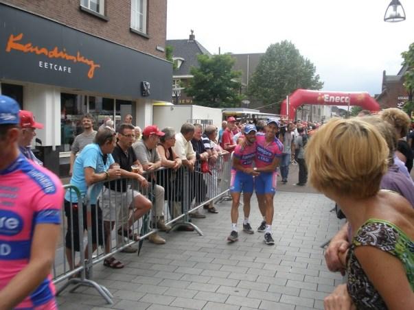 Twee renners van Lampre-ISD