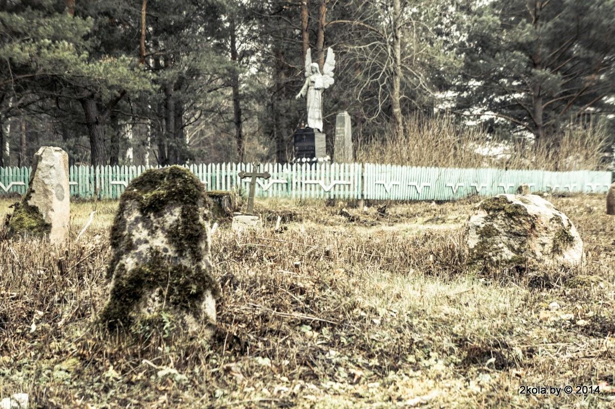 Старыя каталіцкія могілкі Дварэц