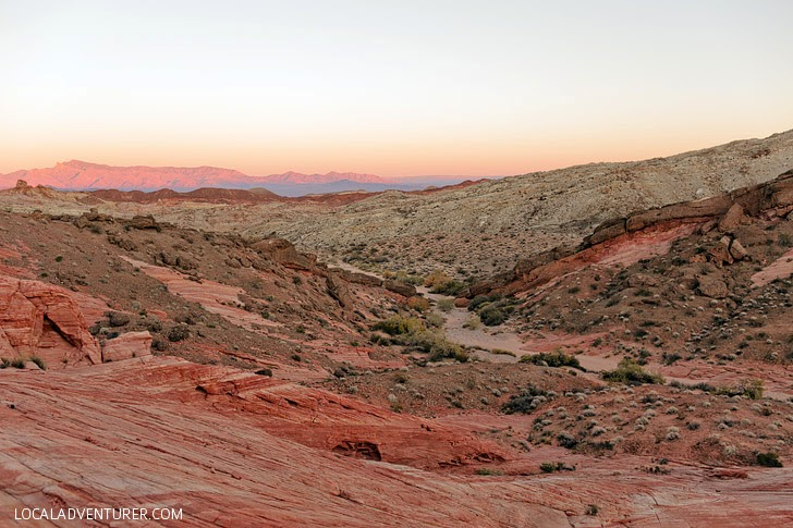 The Valley of Fire Las Vegas.