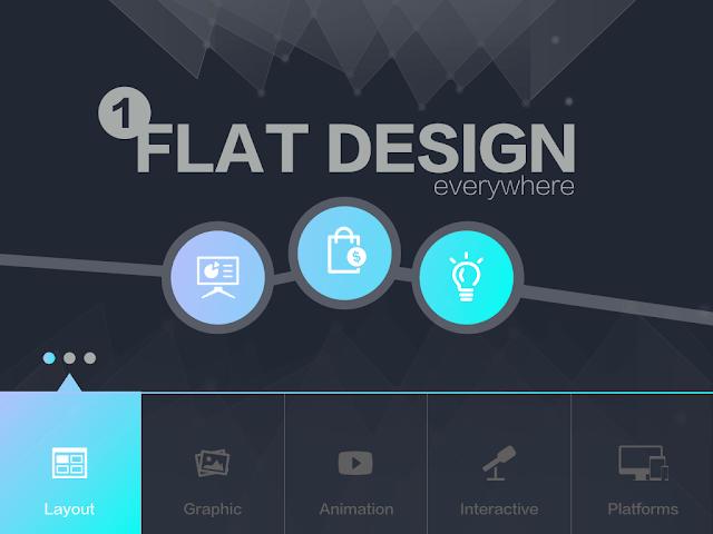 簡報美學: 扁平化設計 (Flat Design)