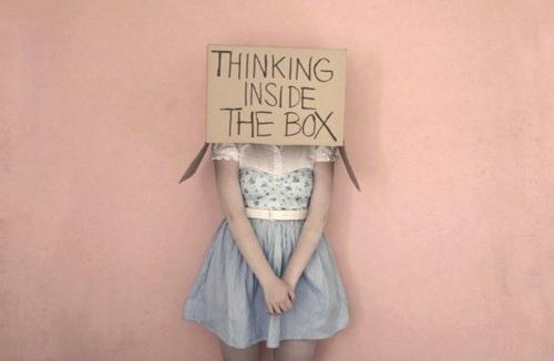 Мислене в кутията
