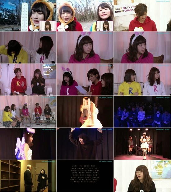 (TV-Variety)(720p) YNN [NMB48チャンネル] りぃちゃん24時間テレビ2014「谷川愛梨の人から聞いた都市伝説」 150319