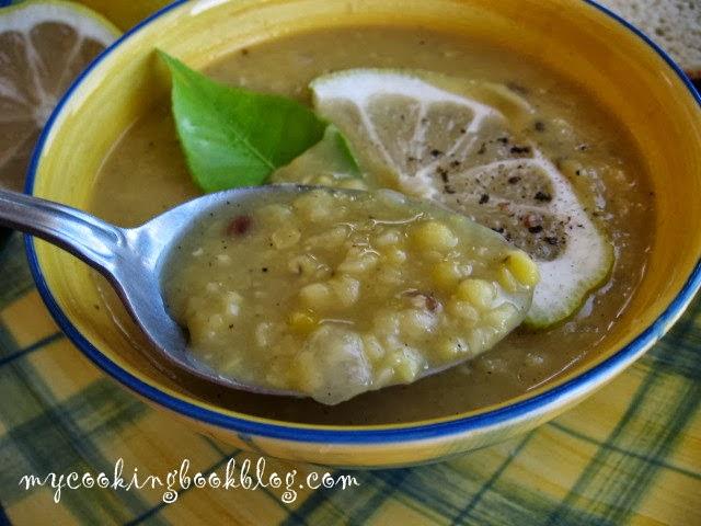 Супа Лювана (Λουβάνα) или супа от сушен жълт грах по Кипърски