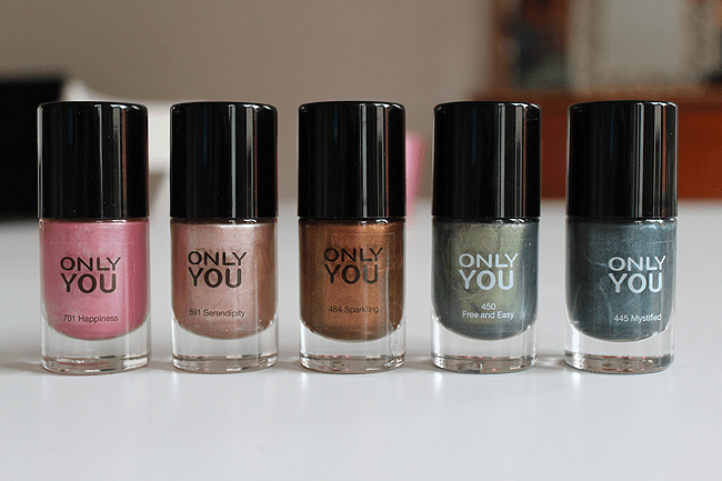 Swatched: Only You herfst '12 nagellak