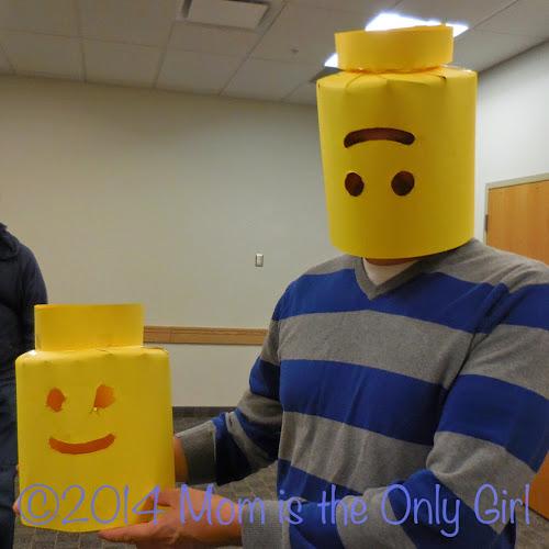 LEGO Exhibit craft http://www.momistheonlygirl.com