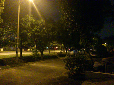Roadworks at night?