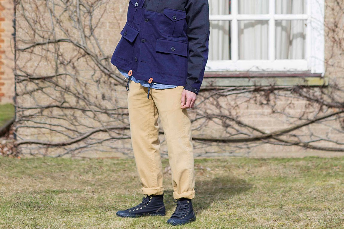 *NIGEL CABOURN For Converse All Star Bosey:走出低調風格 ! 6