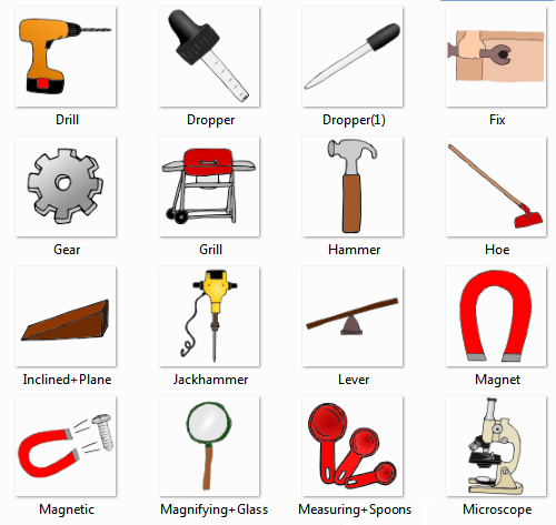 tools names - list of tools, names of tools with picture - online ...