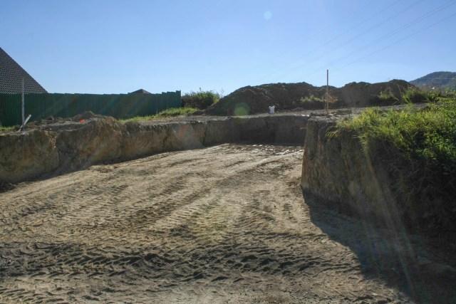 Vykop garážovej jamy