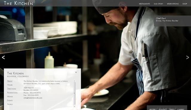 *餐廳官方網站也能那麼攝影味 The Kitchen Community Web Site 3