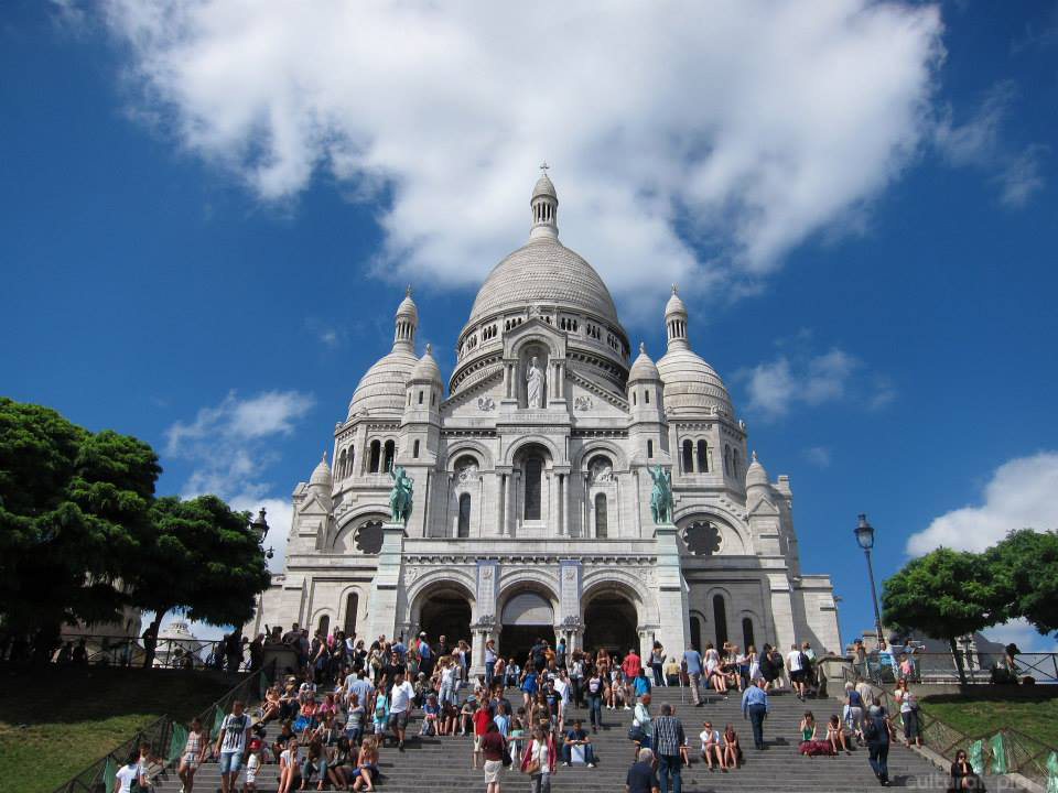 Basilica of the Sacré Cœur Paris
