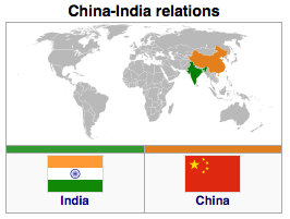 China - India Relations