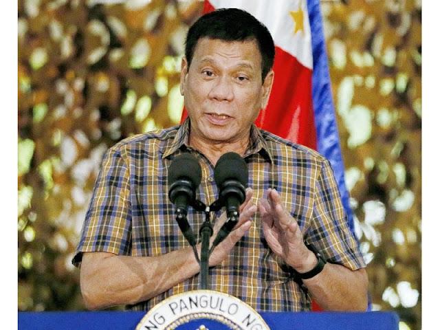 Tổng thống Phi Rodrigo Duterte công bố đuổi Lực lượng Đặc biệt Mỹ ra khỏi đảo Mindanao