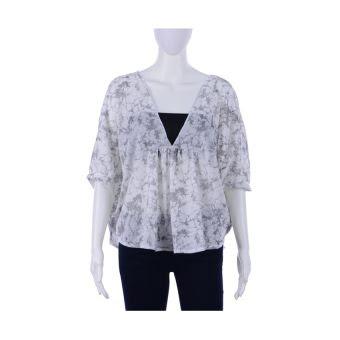 Lazada Chictees Mae Shirt (Glitzy White)