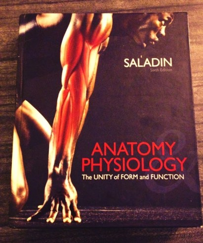 Anatomy and Physiology I textbook