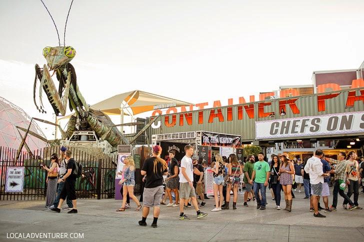 Life is Beautiful Festival Location - Downtown Las Vegas.