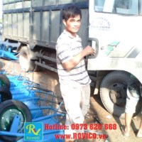 Xuất xưởng lô hàng Xe rùa - Xe cút kít đầu tiên trong năm mới 2013