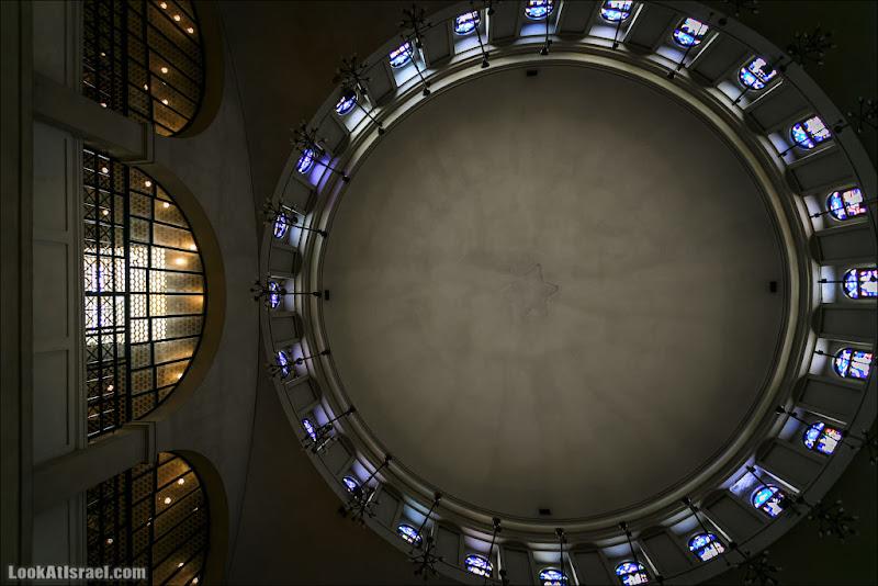 Дома изнутри / Большая тель авивская синагога
