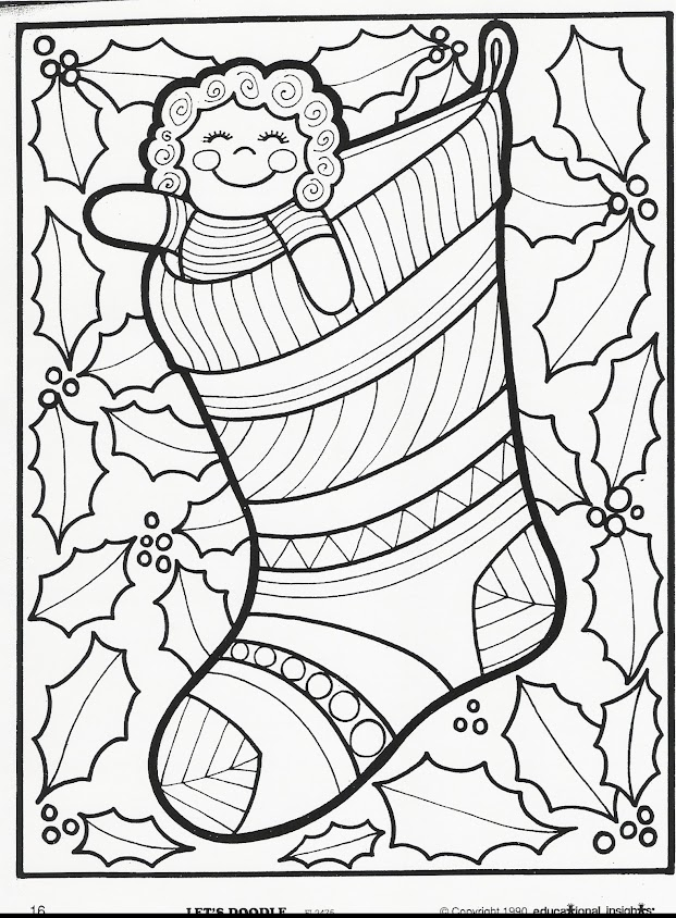 more let's doodle coloring pages!  beyond the toy chest