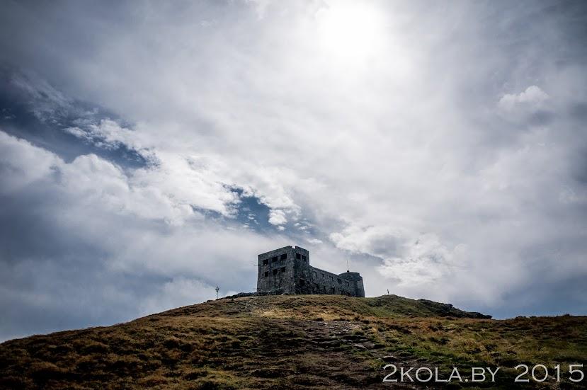 обсерватория Белый Слон на г. Поп-Иван