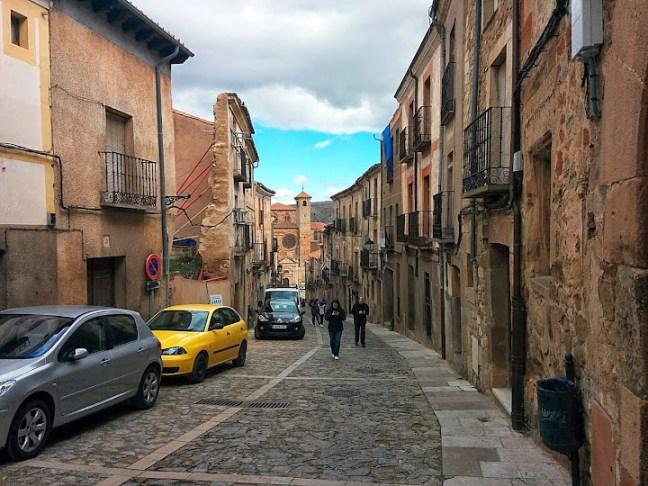 Turismo rural en Sigüenza. Calle Mayor de Sigüenza