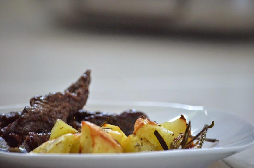 Musciska al forno con patate