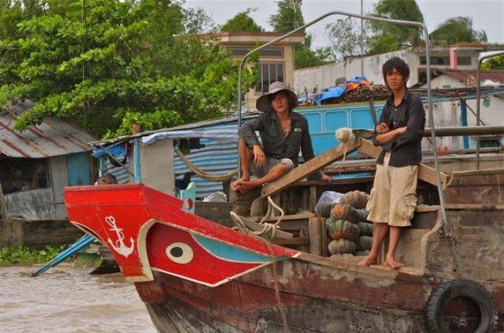 Vietnamese River Boat