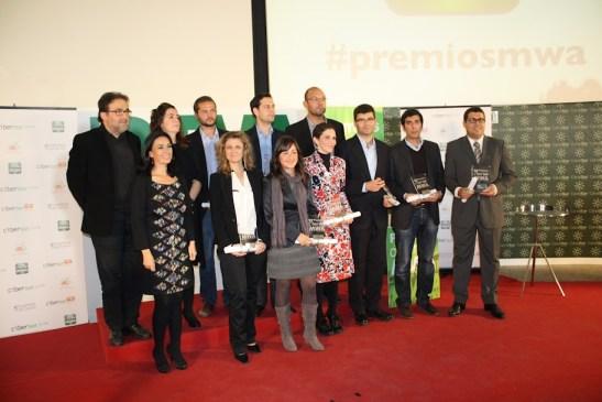 12 premios Cibersur MWA