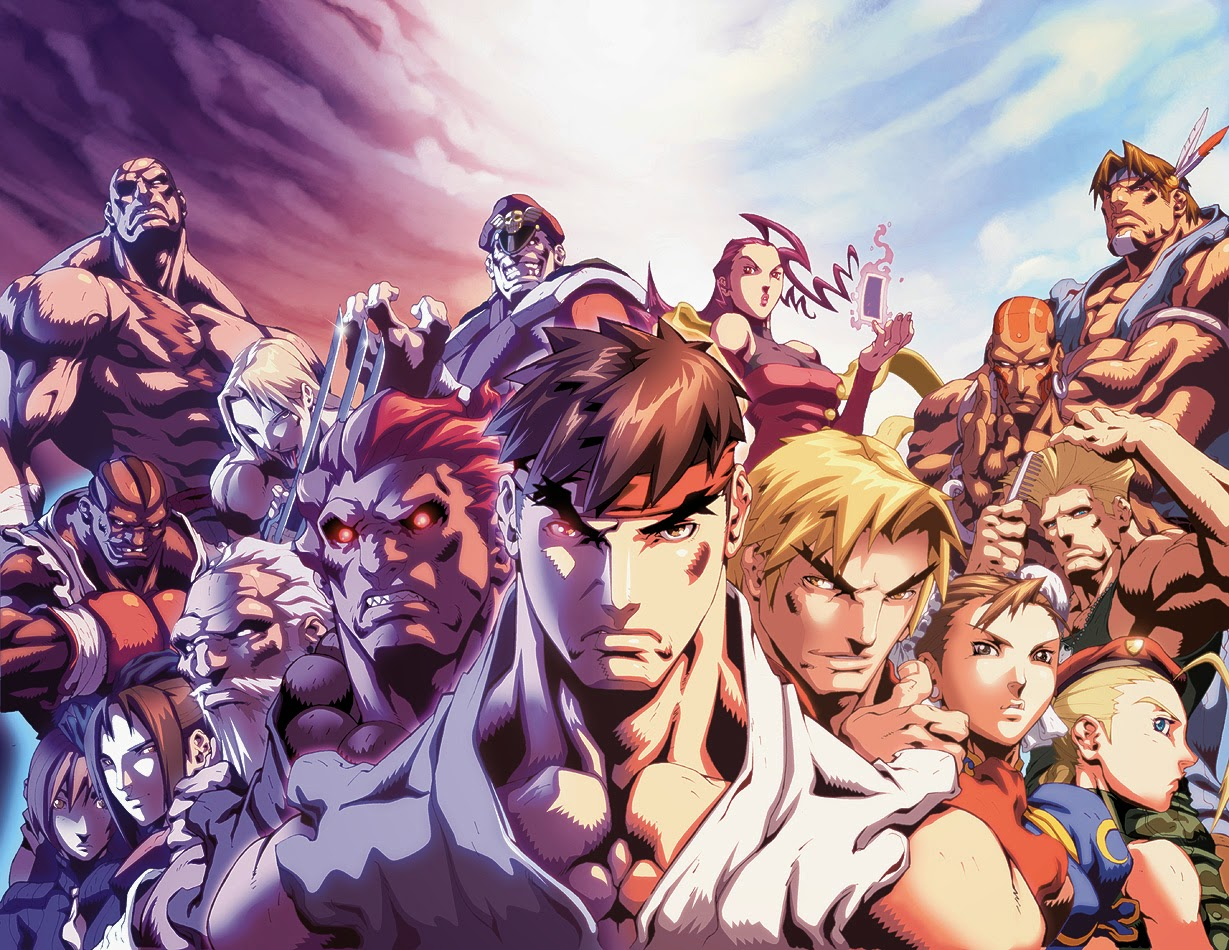 Street Fighter, White Wolf, Crying Grumpies