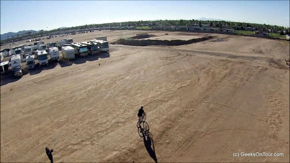 Aerial image from quadcopter