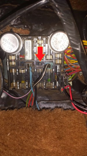 Mystery fuse box wire | rancherous