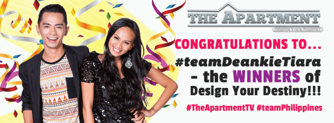 The Apartment TV winner -Design Your Destiny Season 3