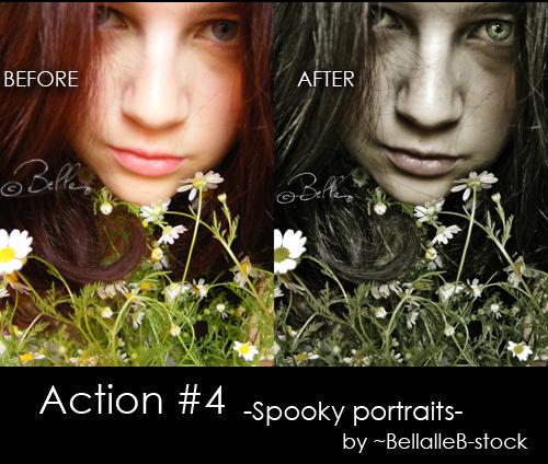 Spooky portrait