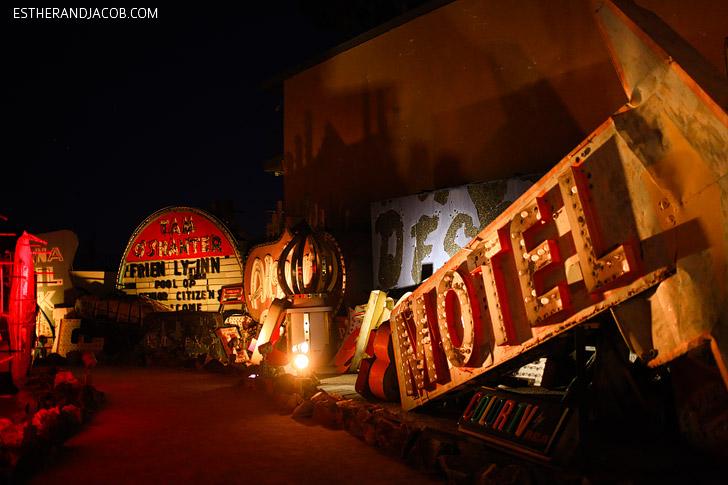 Neon Sign Museum Las Vegas.