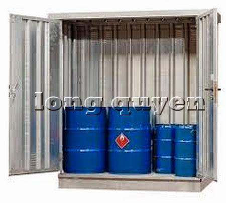 Tủ sắt để bình khí và lỏng ngoài trời D