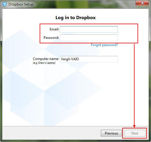 *免費申請帳號、基本入門使用教學:Dropbox 雲端使用教學(一) 7
