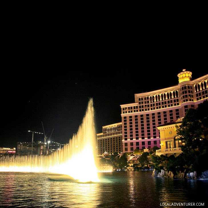 Fountains of Bellagio (25 Free Things to Do in Las Vegas).