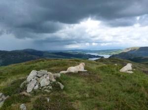 Summit of Birk Fell