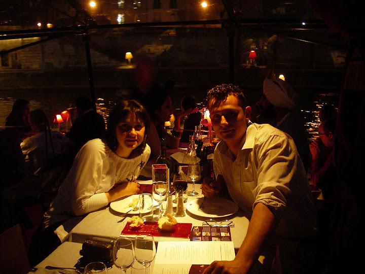 Qué ver en París en un fin de semana; Cenar en el Sena