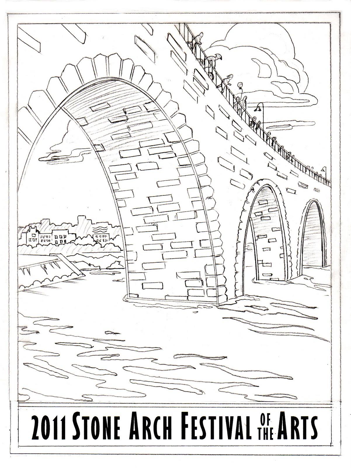 Cindy Lindgren Stone Arch Bridge Drawings